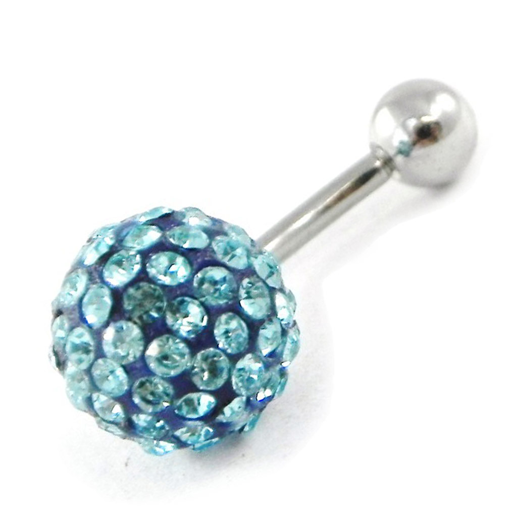 Body Piercing \'Cristal Divin\' turquoise - [G7513]