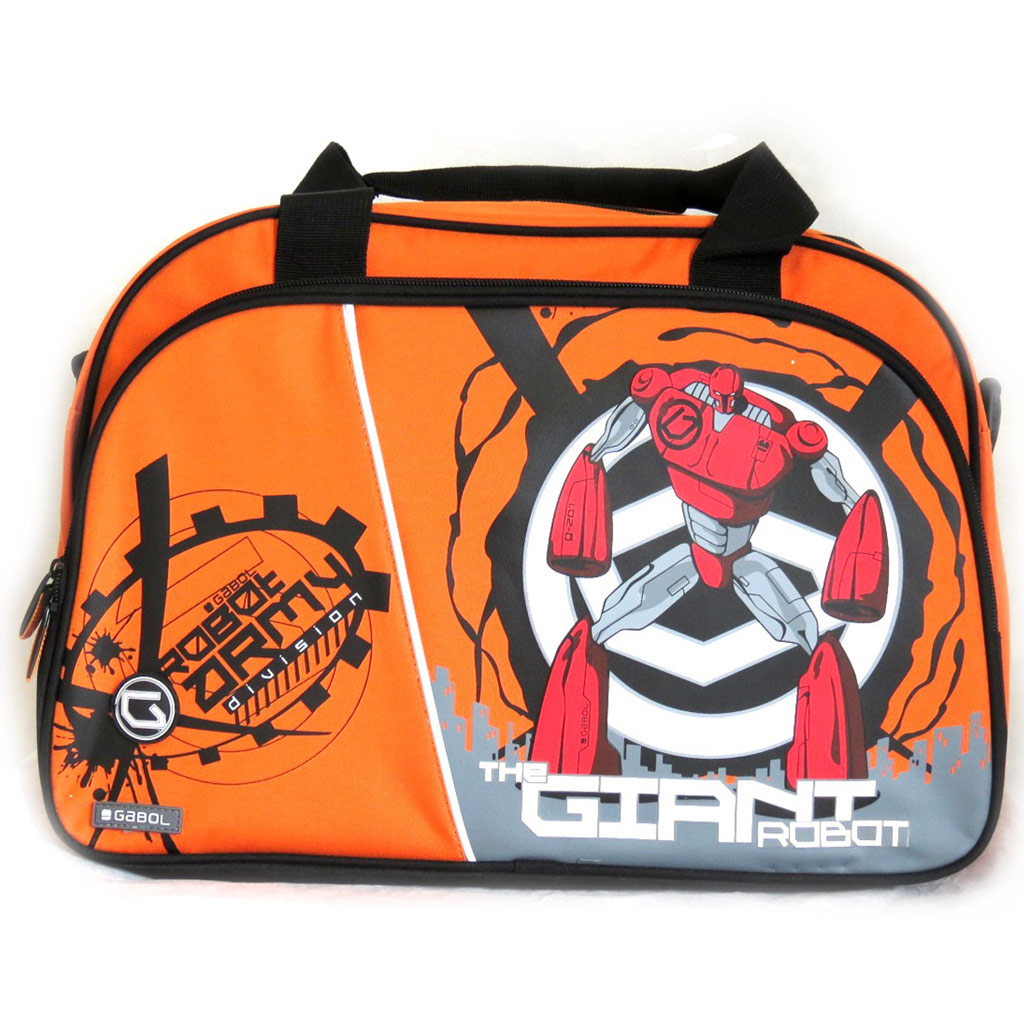 Sac de voyage \'Gabol\' orange (41x27x21 cm) Robot - [M4429]