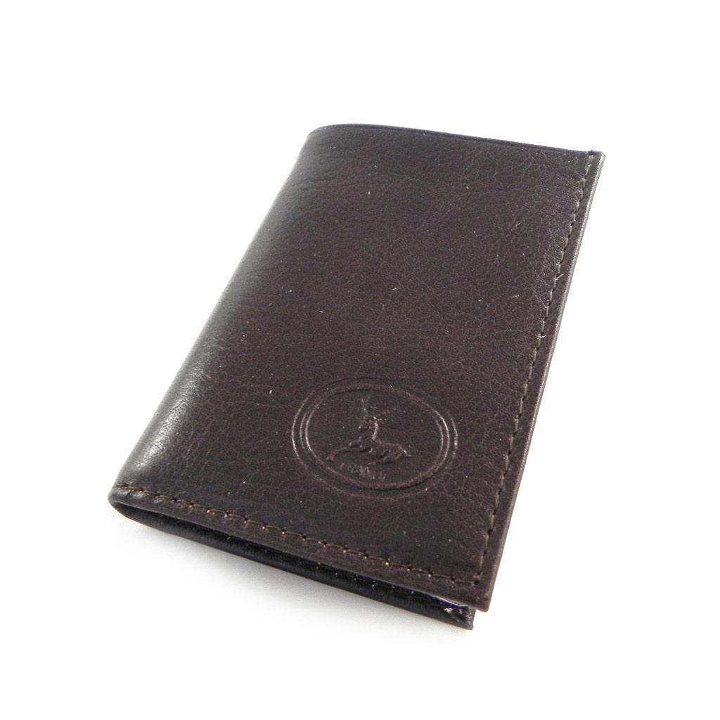 Porte-cartes Cuir \'Frandi\' marron dakota - [H6714]