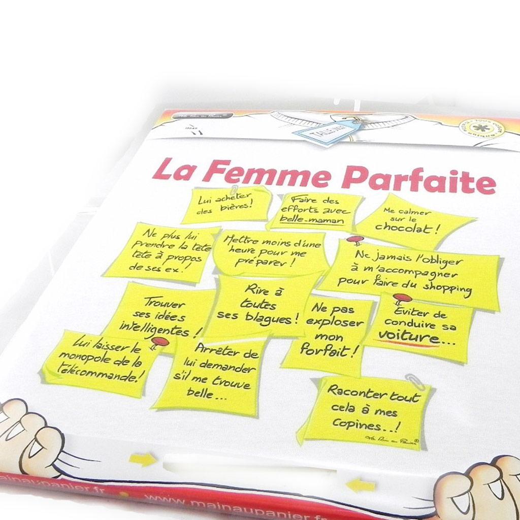 T-shirt \'La Femme Parfaite\'  - [I5649]