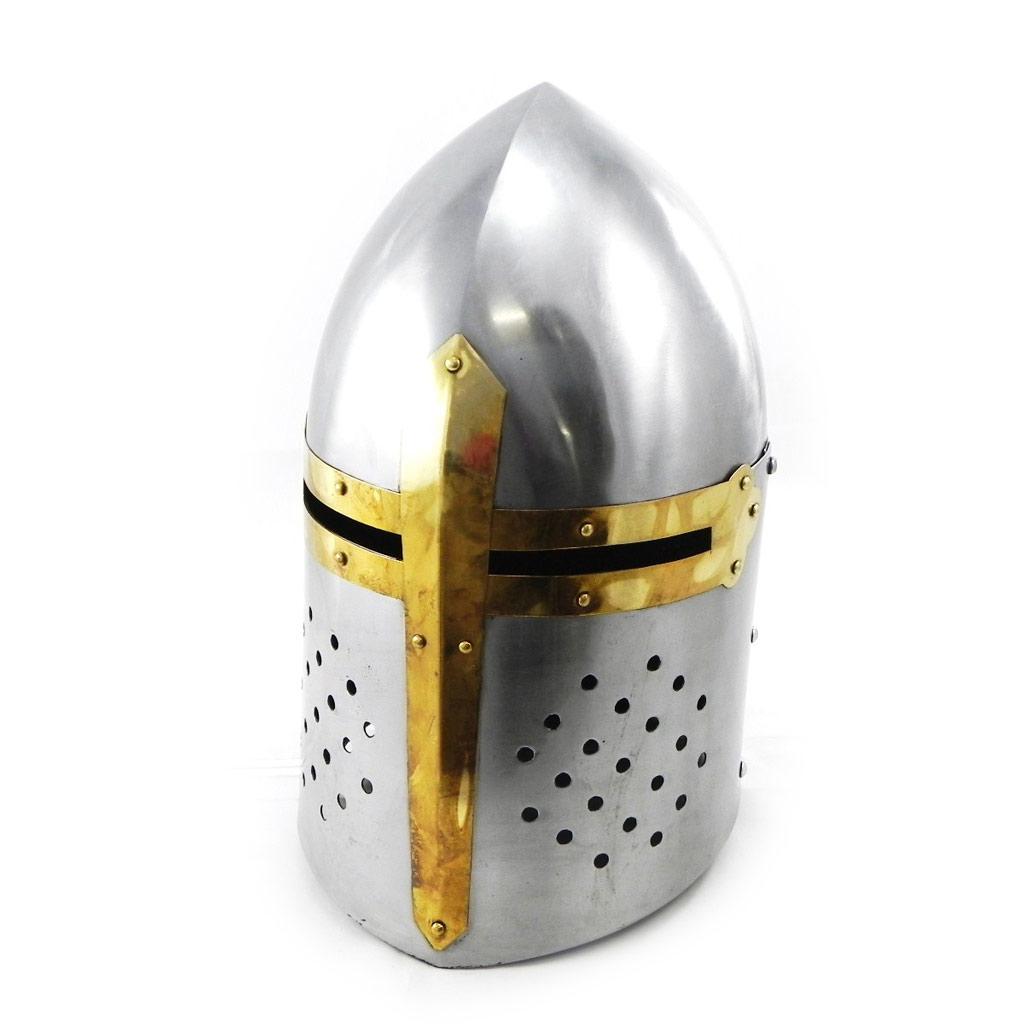 Casque Médiéval \'Moyen Age\' casque teuton - [I5683]
