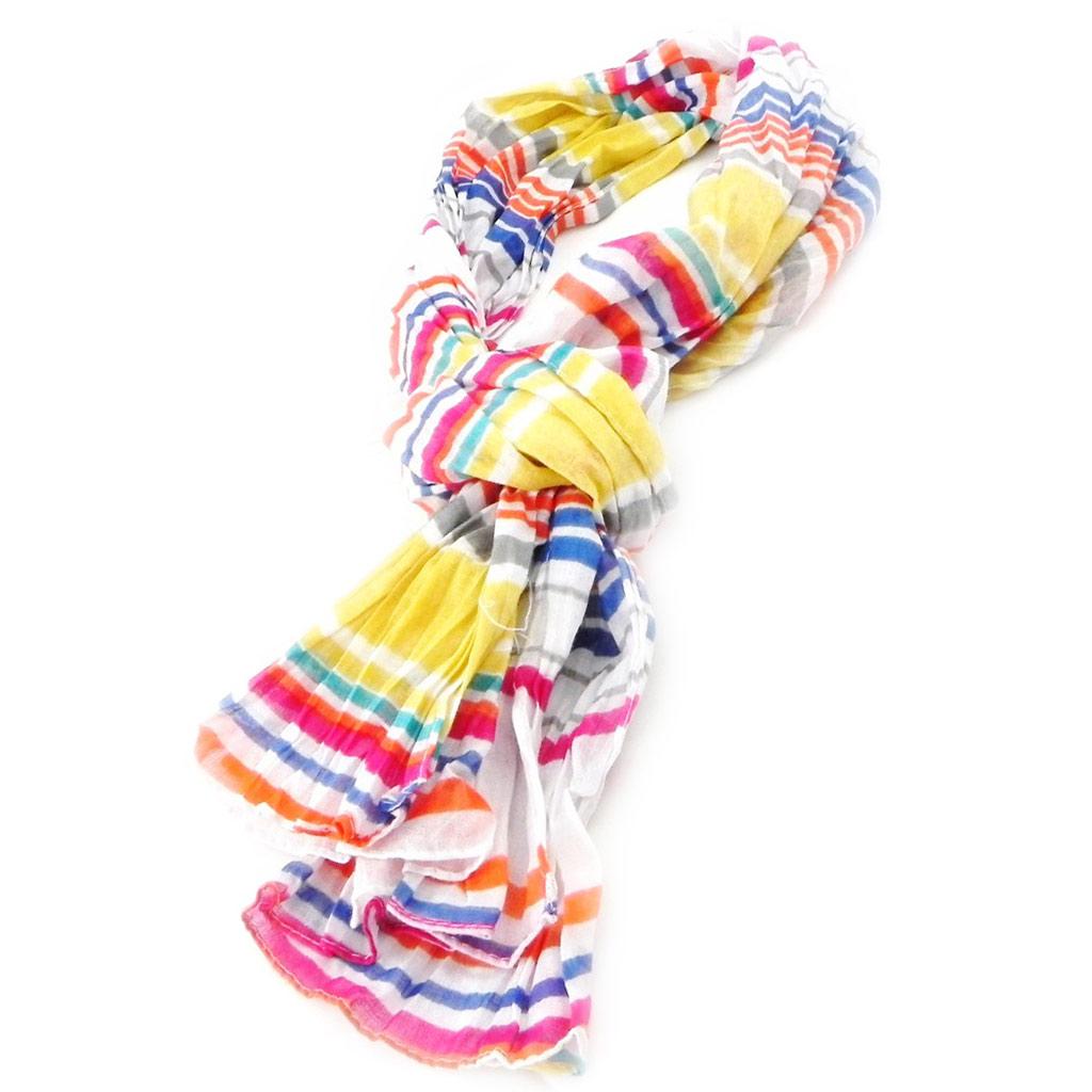 Echarpe \'Coloriage\' multicolore - [I5918]