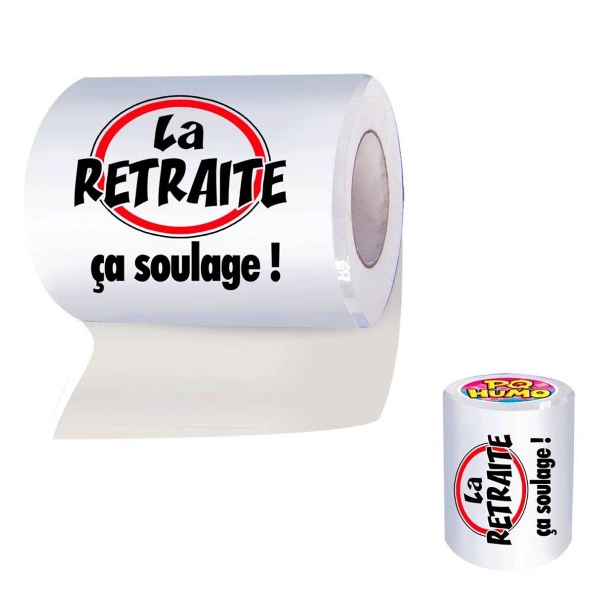 Rouleau WC \'la Retraite\'  - [H7075]