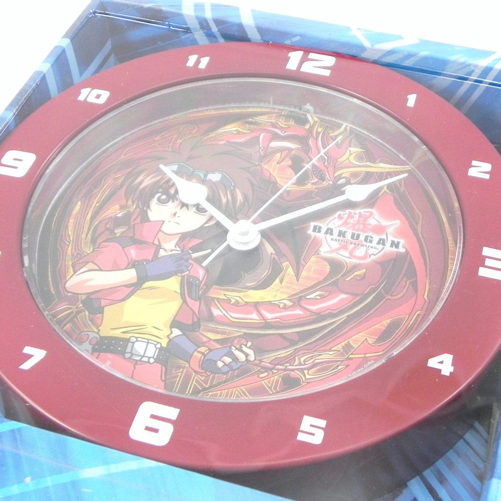 Horloge Murale \'Bakugan\' rouge - [G8186]