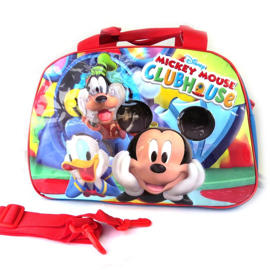 Sac de voyage enfant \'Mickey\' tutti frutti (40 cm) - [M4913]