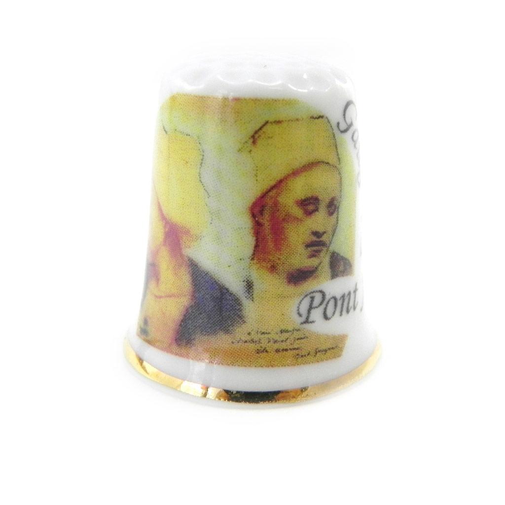 Dé à coudre \'Gauguin à Pont Avens\'  - [I6857]