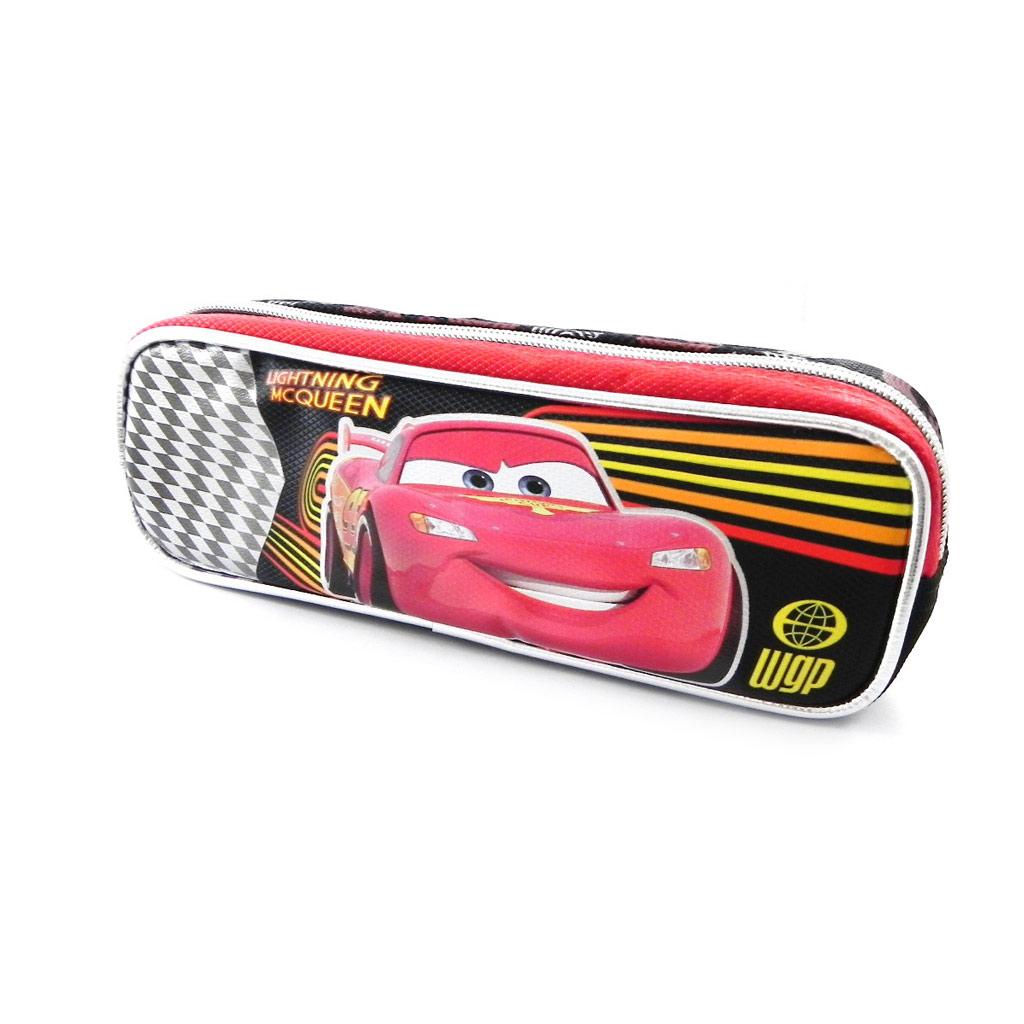 Trousse \'Cars\' rouge noir - [I6875]