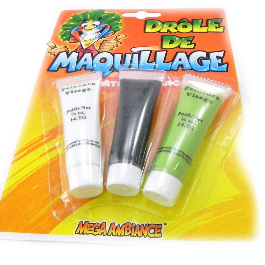 Kit de \'Maquillage Festif\' 3 tubes - [I6987]