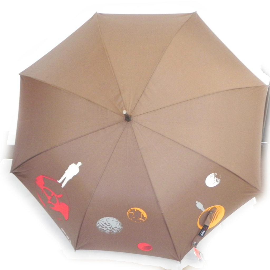 Parapluie Neyrat \'Cosmos\' marron - [I7004]