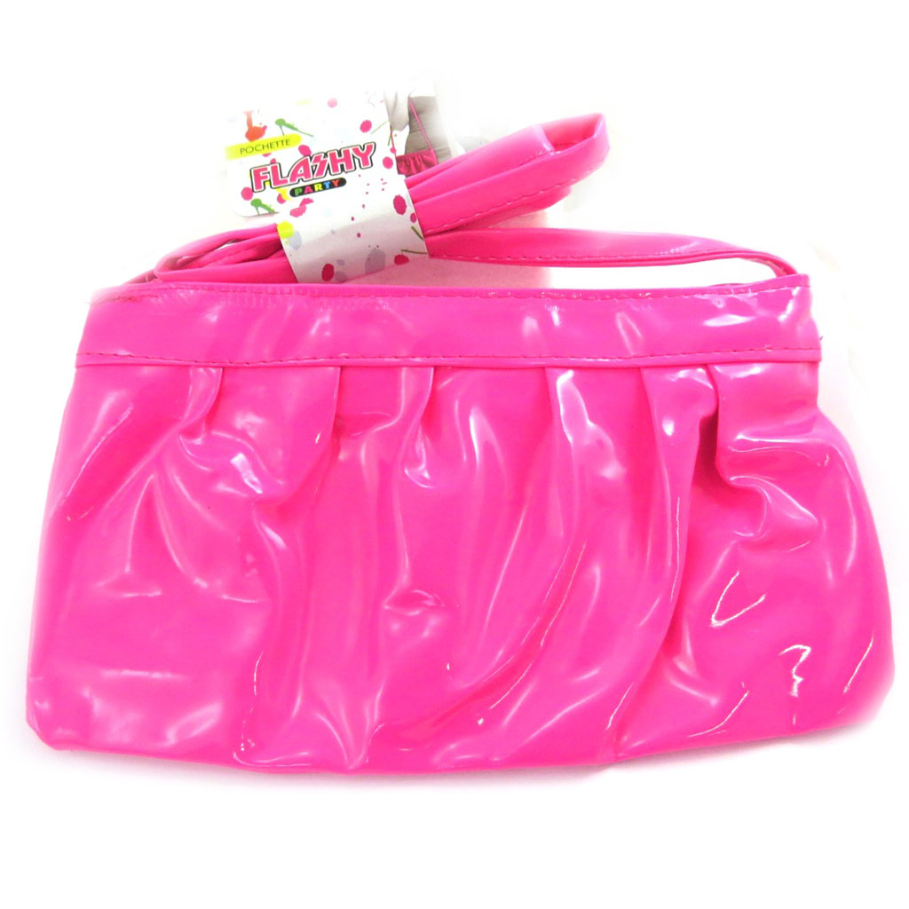 Sac à main \'Coloriage\' rose vernis - [M5185]