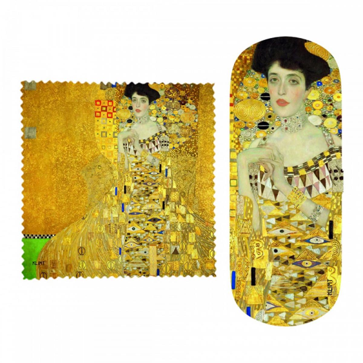 Etui à lunettes \'Gustav Klimt\' (Adèle) - 16x6x36 cm - [R2010]