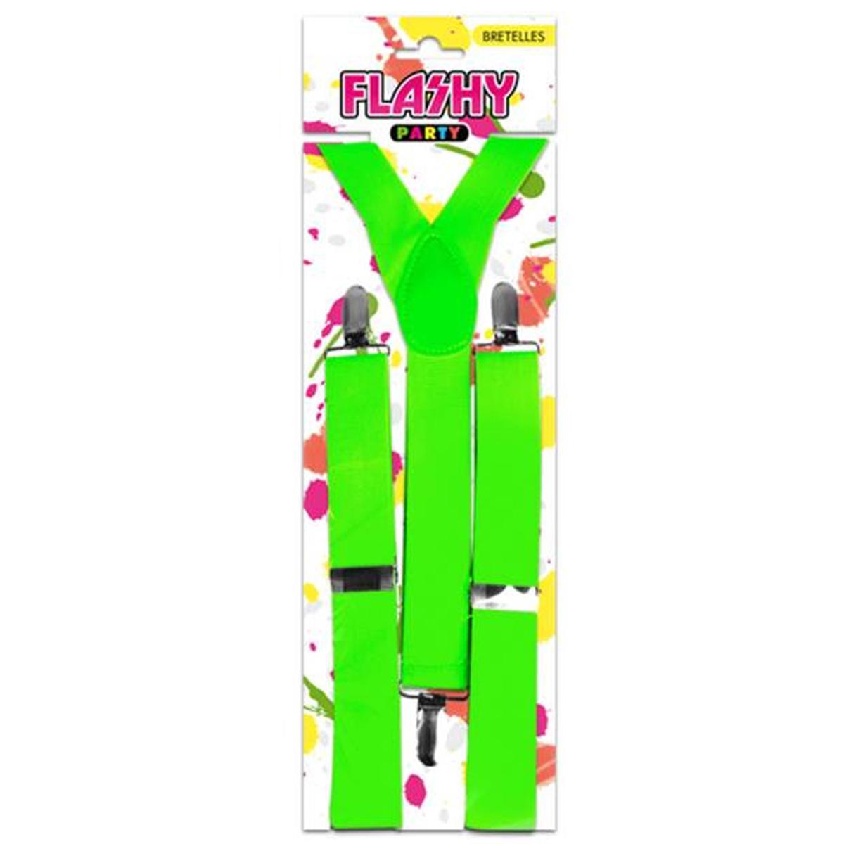 Bretelles \'Coloriage\' vert - [K4950]