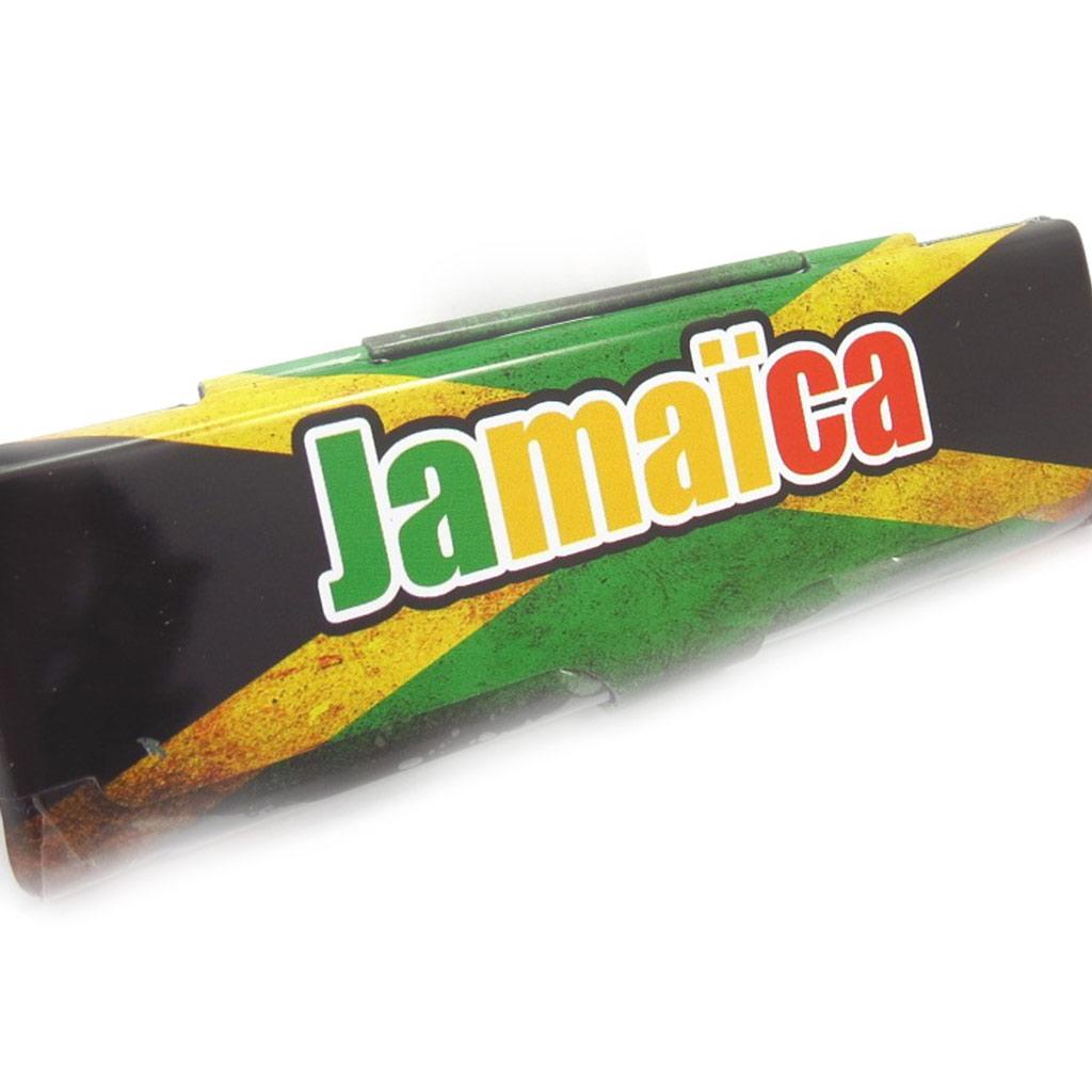 Etui à papier \'Jamaica\' tricolore - [K4976]