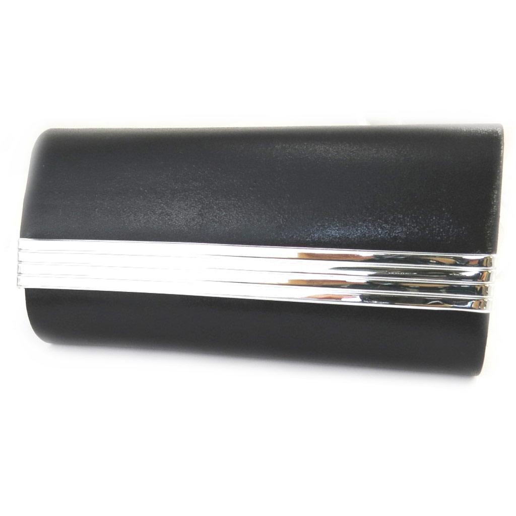 Pochette \'Kika\' noir argenté  - [M5448]