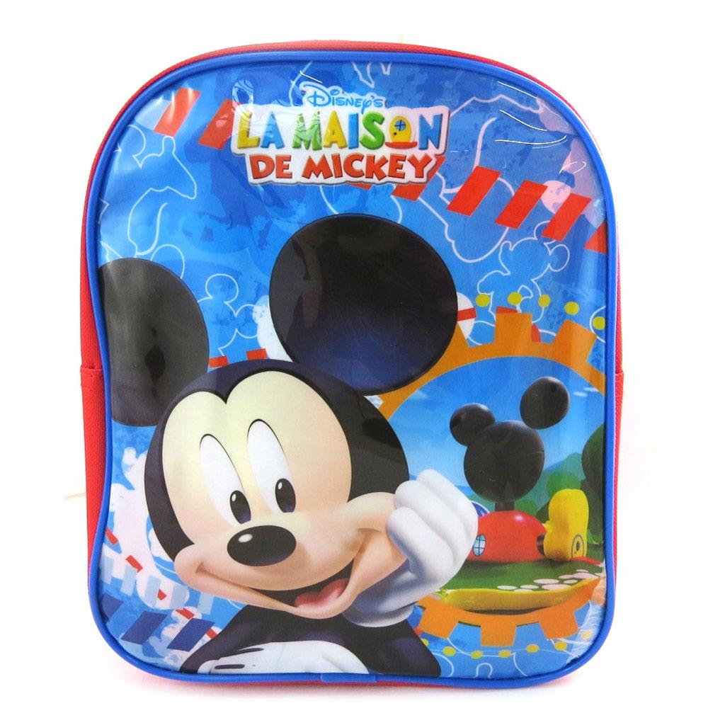 Sac à dos enfant \'Mickey\' bleu tutti frutti (24 cm) - [M5499]