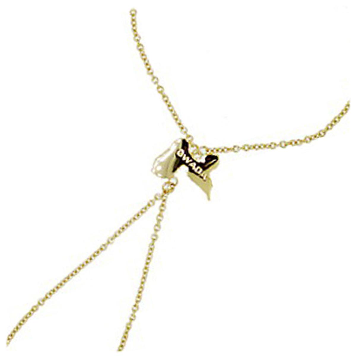 Bracelet Bague Plaqué Or \'Gwada\' doré - 13x16 mm - [G9384]