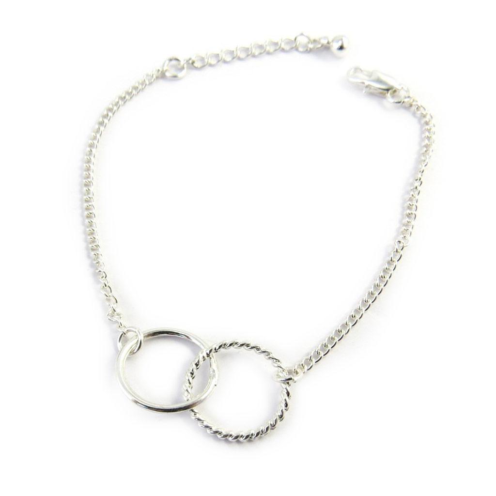 Bracelet \'Infini\' argenté - [M5609]