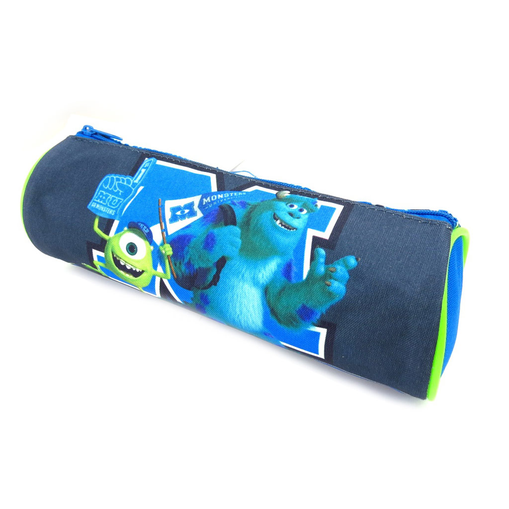 Trousse \'Monsters University\' bleu vert - [K5278]