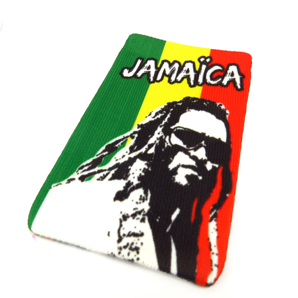 Chaussette Portable \'Jamaica\' rasta - [K5396]
