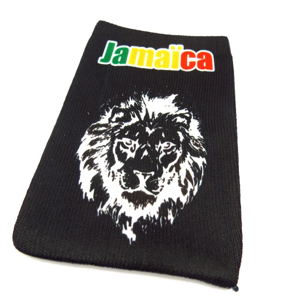 Chaussette Portable \'Jamaica\' lion - [K5399]