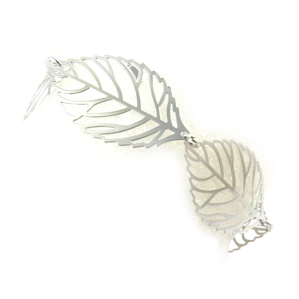 Bracelet \'Carmen\' argenté  - [M5679]
