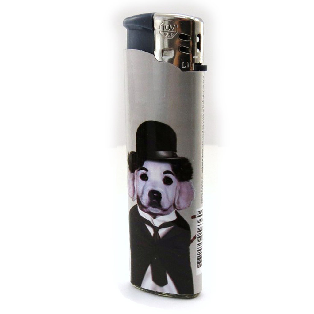 Briquet \'Animaux Stars\' Charlie Chaplin - [I8533]