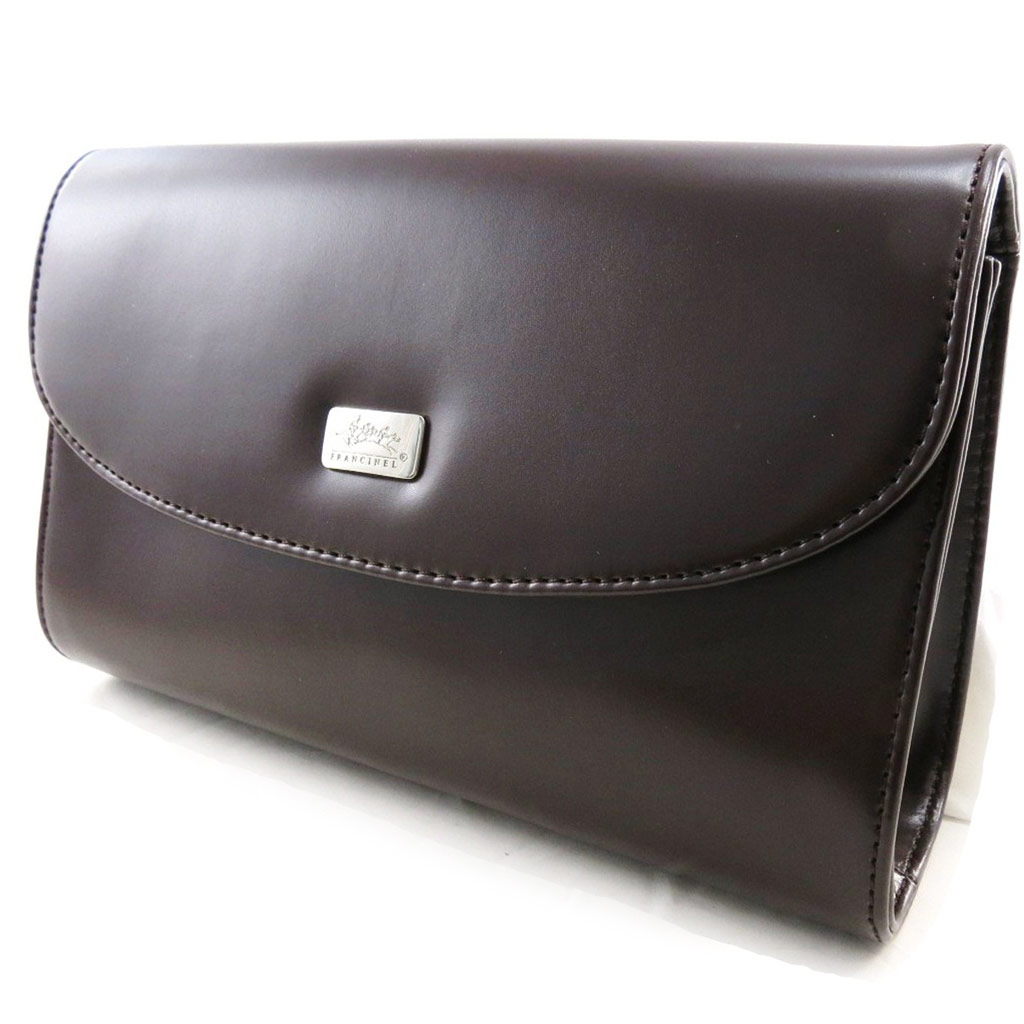 Pochette \'Cocktail\' marron - [I8544]
