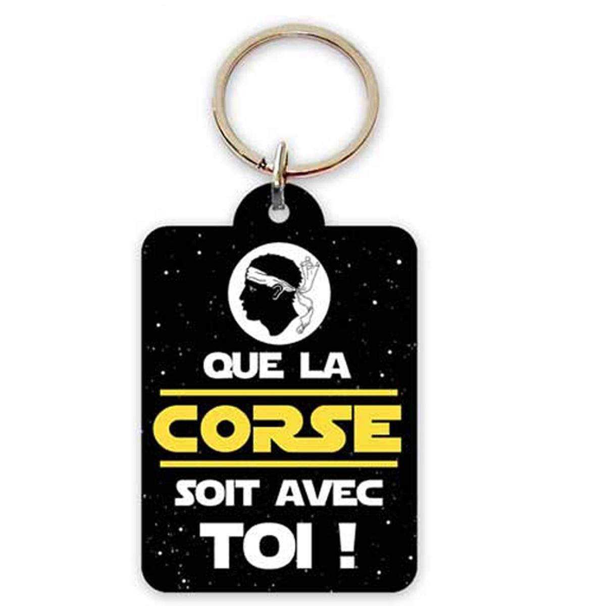 Porte-Clés \'Corsica\' (que la Corse soit avec toi !) - 65x45 cm - [R2304]