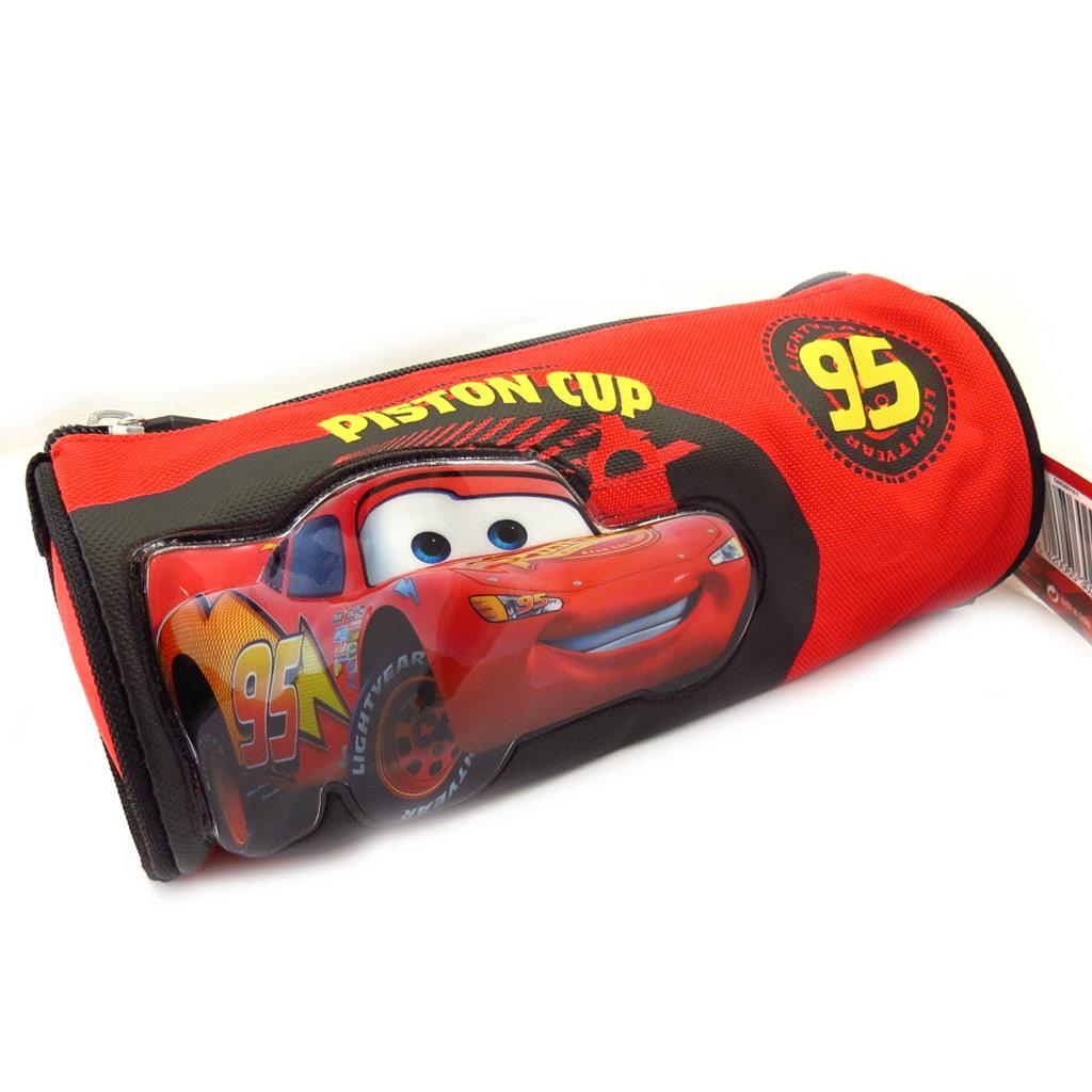 Trousse tube \'Cars\' rouge noir  - [K5467]