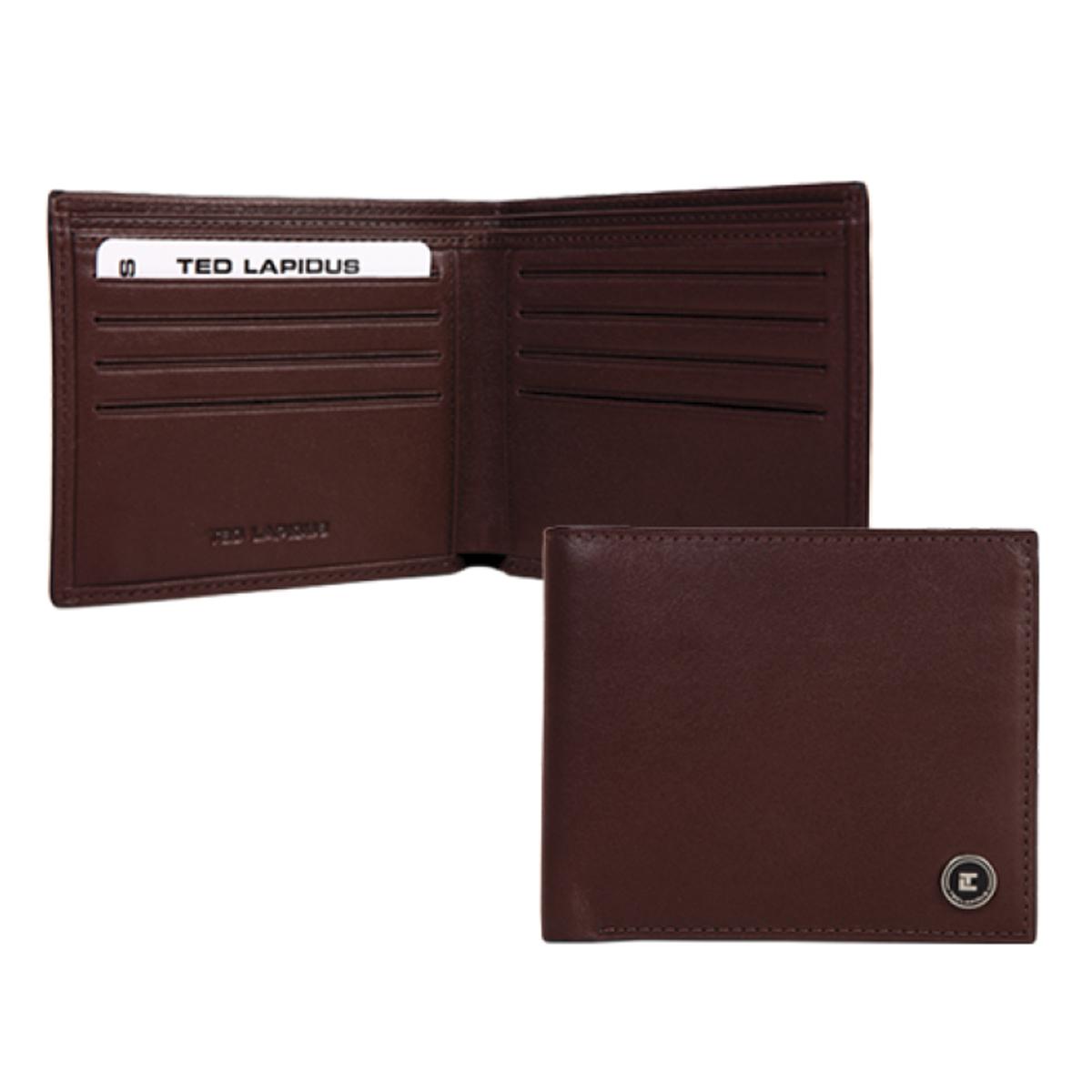 Porte-cartes \'Ted Lapidus\' marron - 115x95x3 cm - [K5634]
