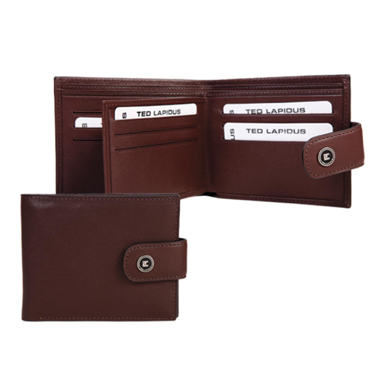 Porte-cartes \'Ted Lapidus\' marron - 115x95x3 cm - [K5636]