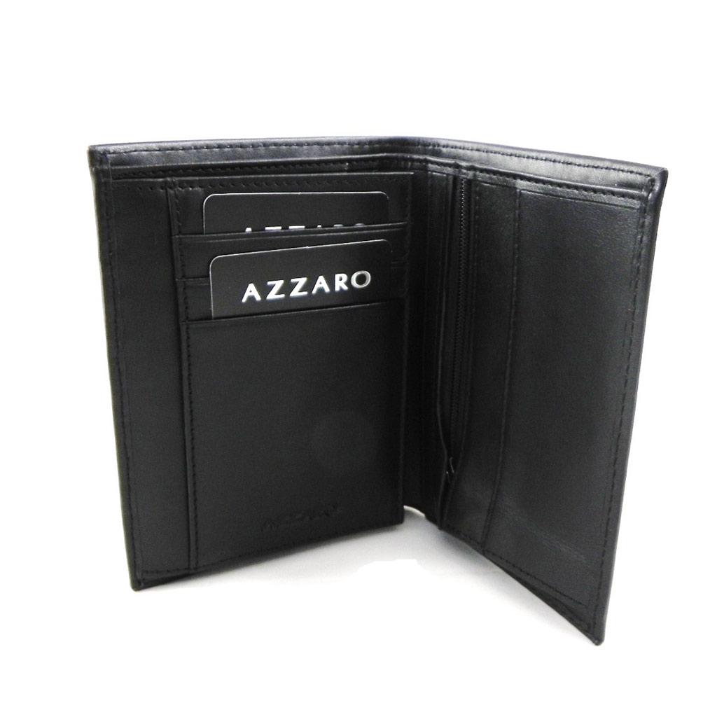 Portefeuille \'Azzaro\' noir (européen) - [H9723]