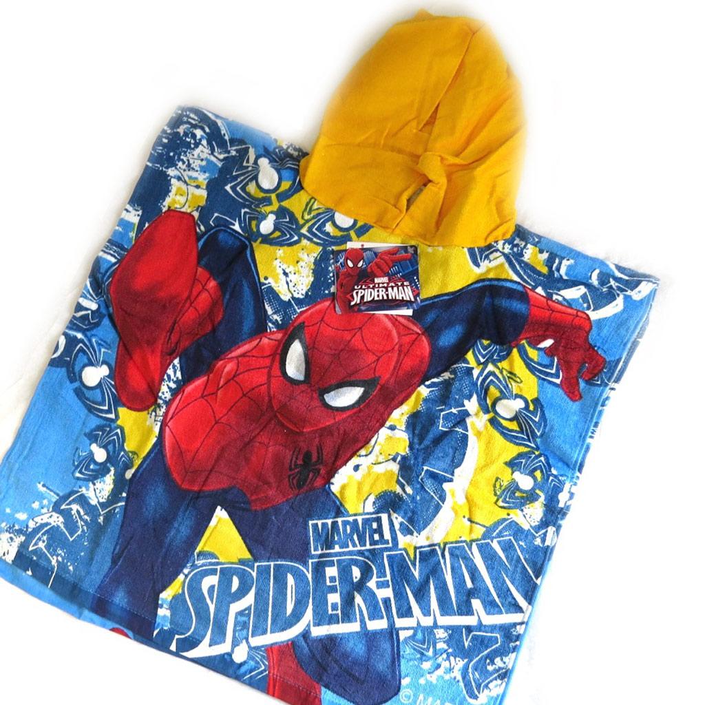 Poncho sortie de bain enfant \'Spiderman\' (maillot de bain) - [M5964]