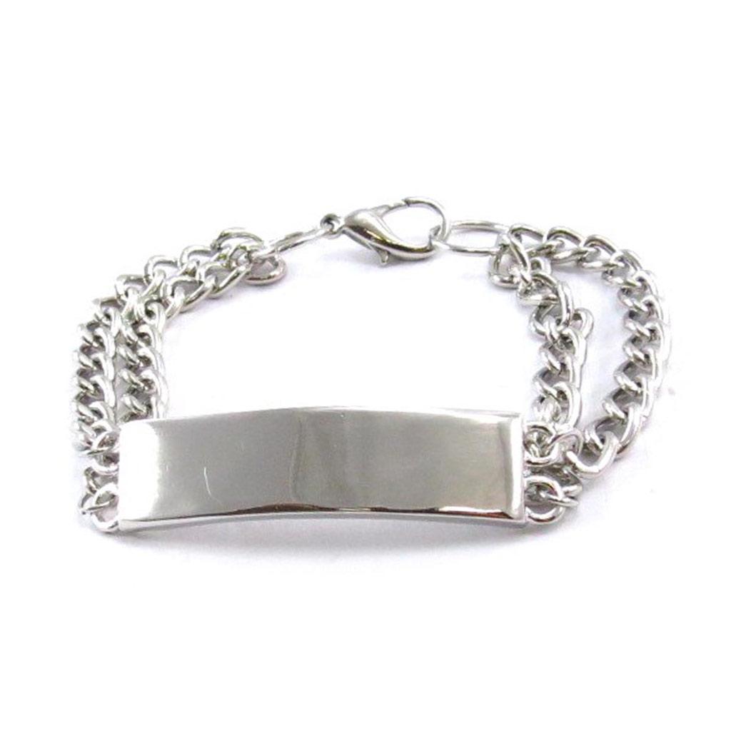 Bracelet \'Chorégraphie\' argenté - [J7237]