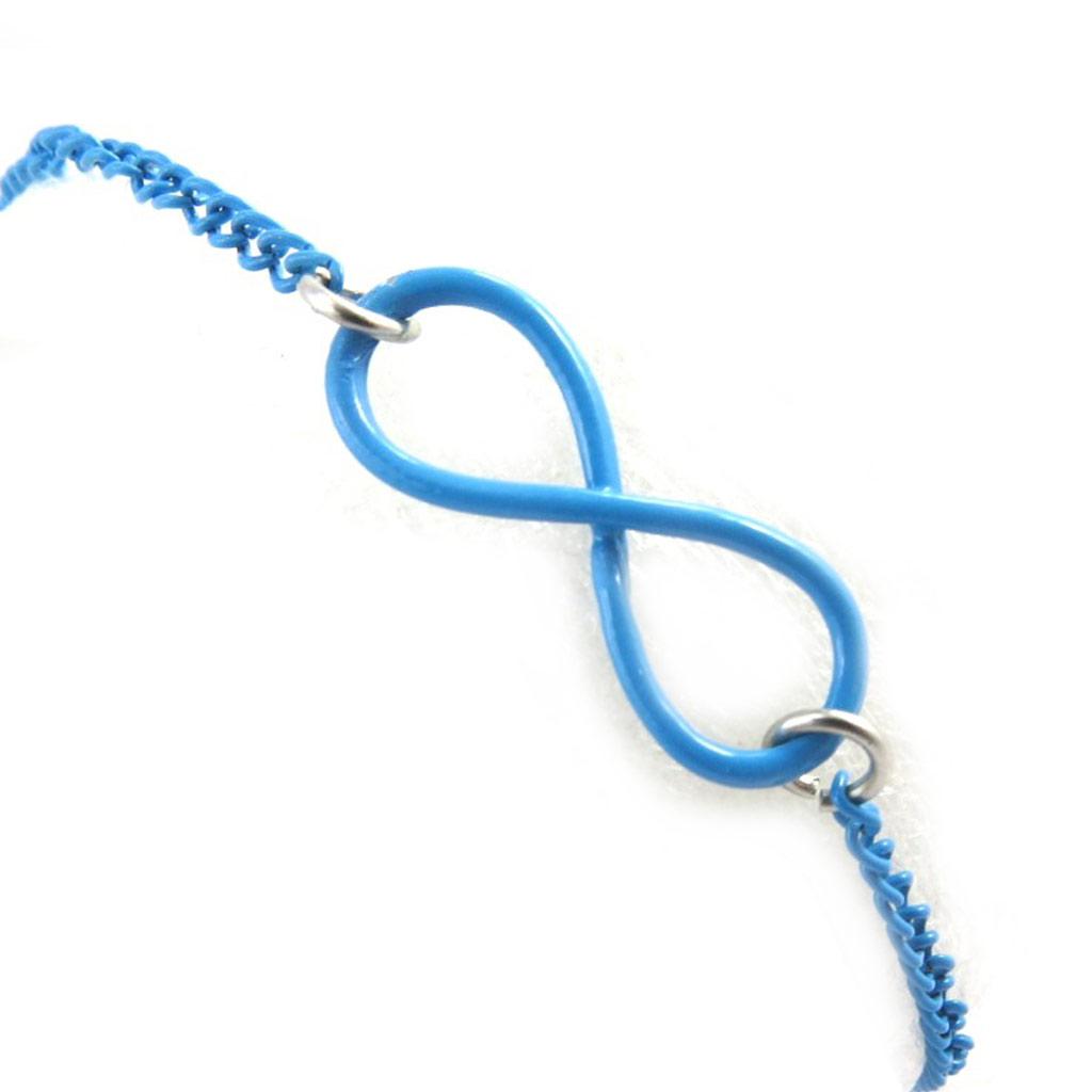 Bracelet \'Infini\' bleu - [M6173]