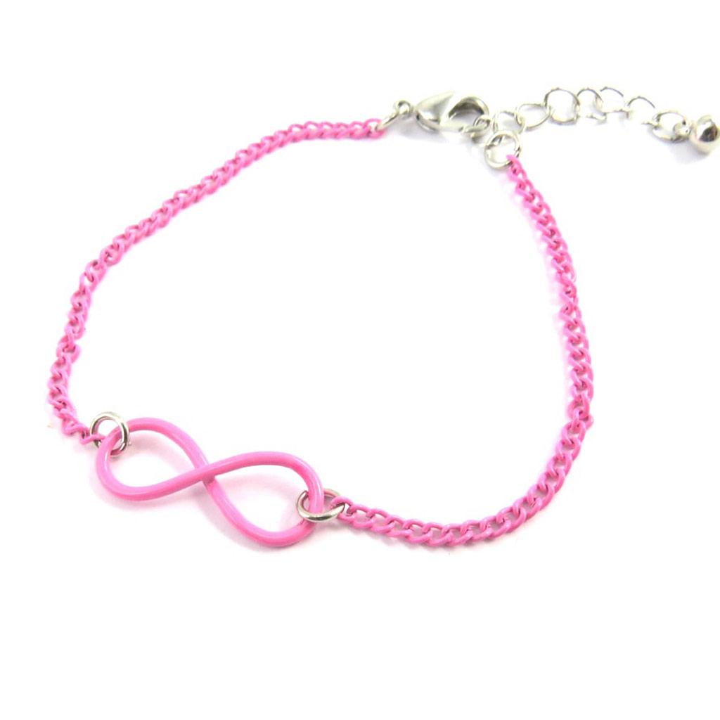 Bracelet \'Infini\' rose - [M6174]