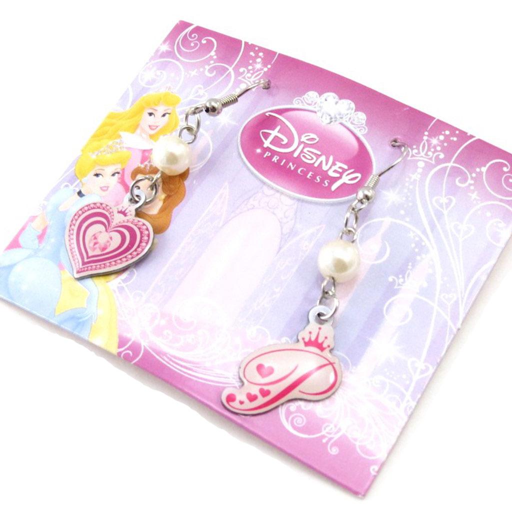 Boucles enfant \'Princesses Disney\' rose - [I9543]