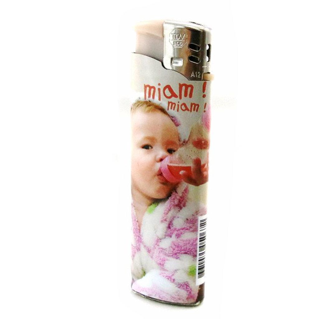 Briquet \'Adorables Bébés\' rose biberon - [I9695]