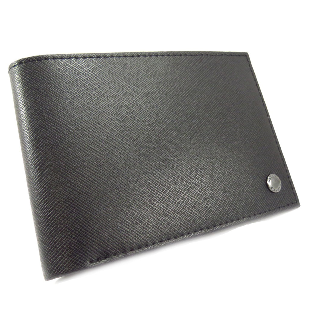 Portefeuille italien \'Azzaro\' noir - [K6243]
