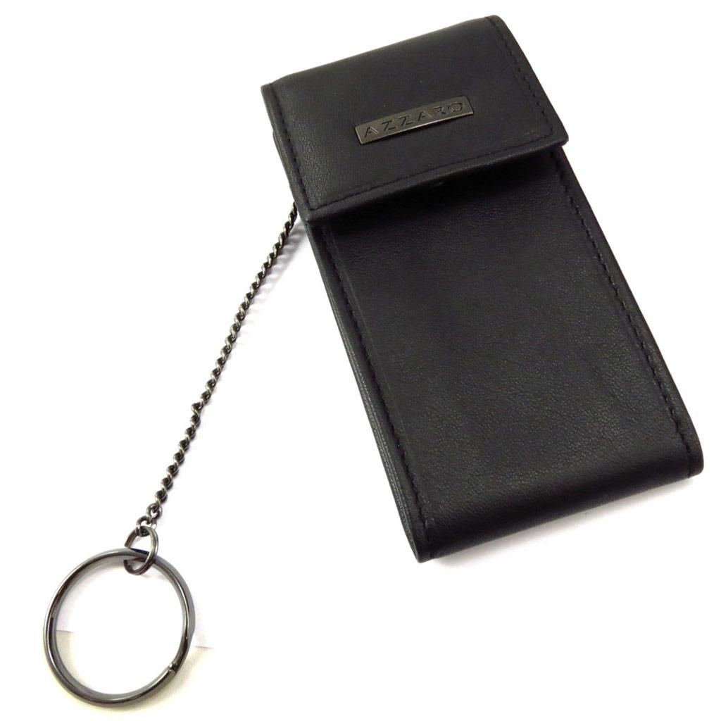 Porte-clés \'Azzaro\' noir  - [K6288]