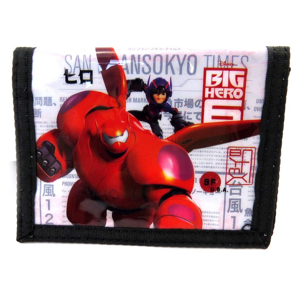 Portefeuille \' Big Hero\' noir blanc rouge - [M6379]