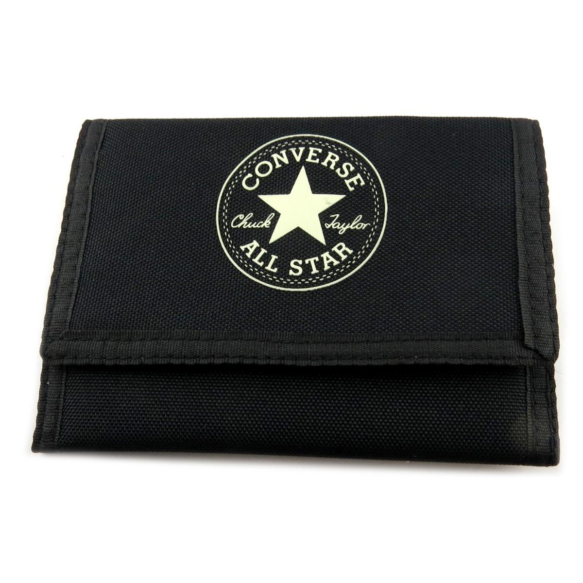 Portefeuille \'Converse\' noir - 14x95 cm - [R2745]