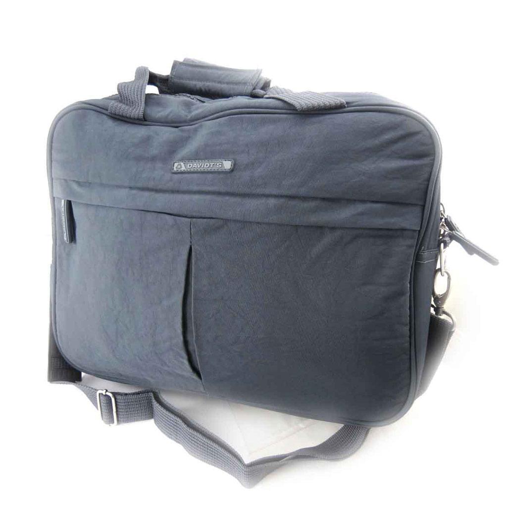 Petit sac de voyage \'Mike\' gris - [J8401]