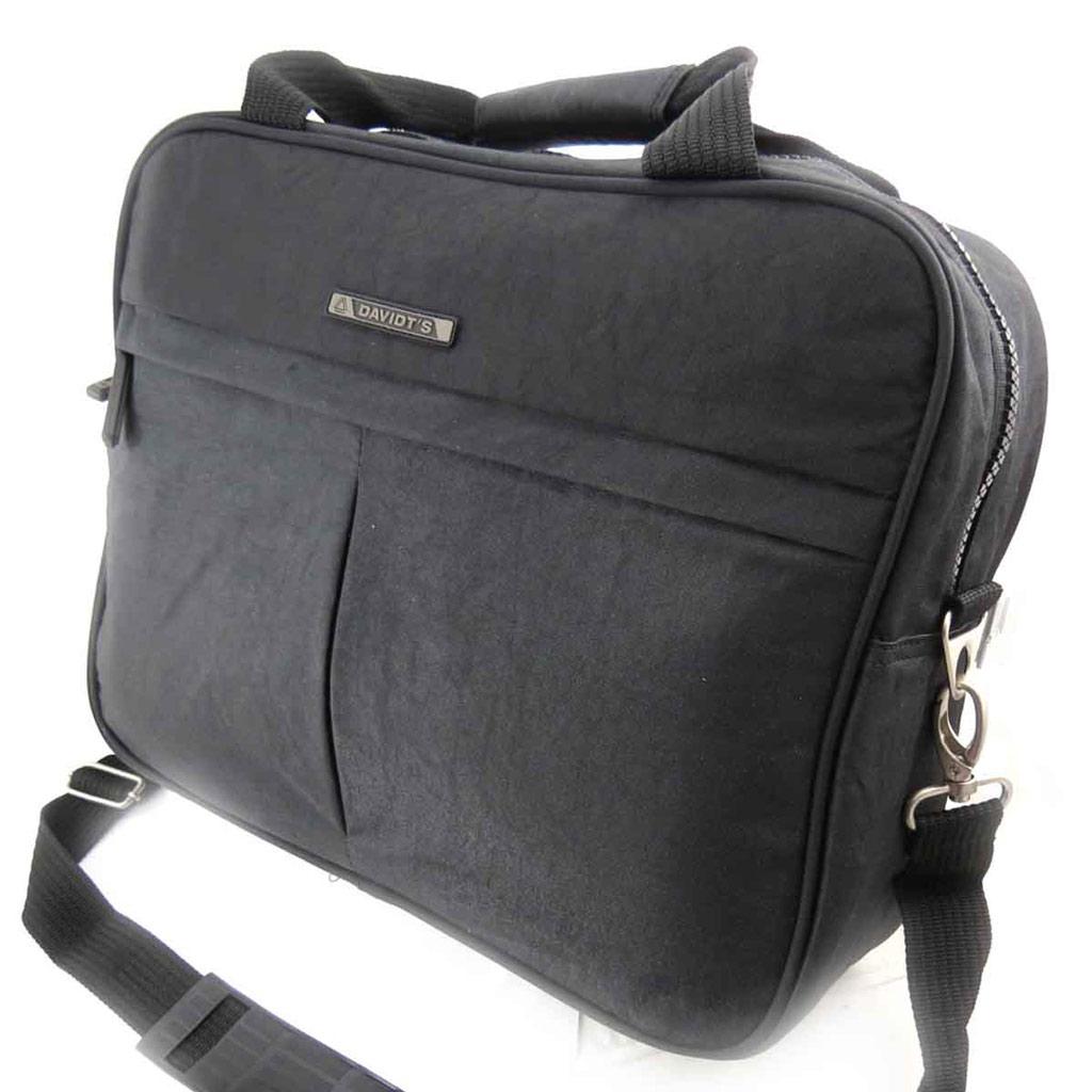 Petit sac de voyage \'Mike\' noir - [J8407]