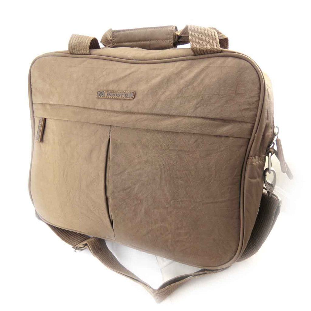 Petit sac de voyage \'Mike\' marron - [J8408]