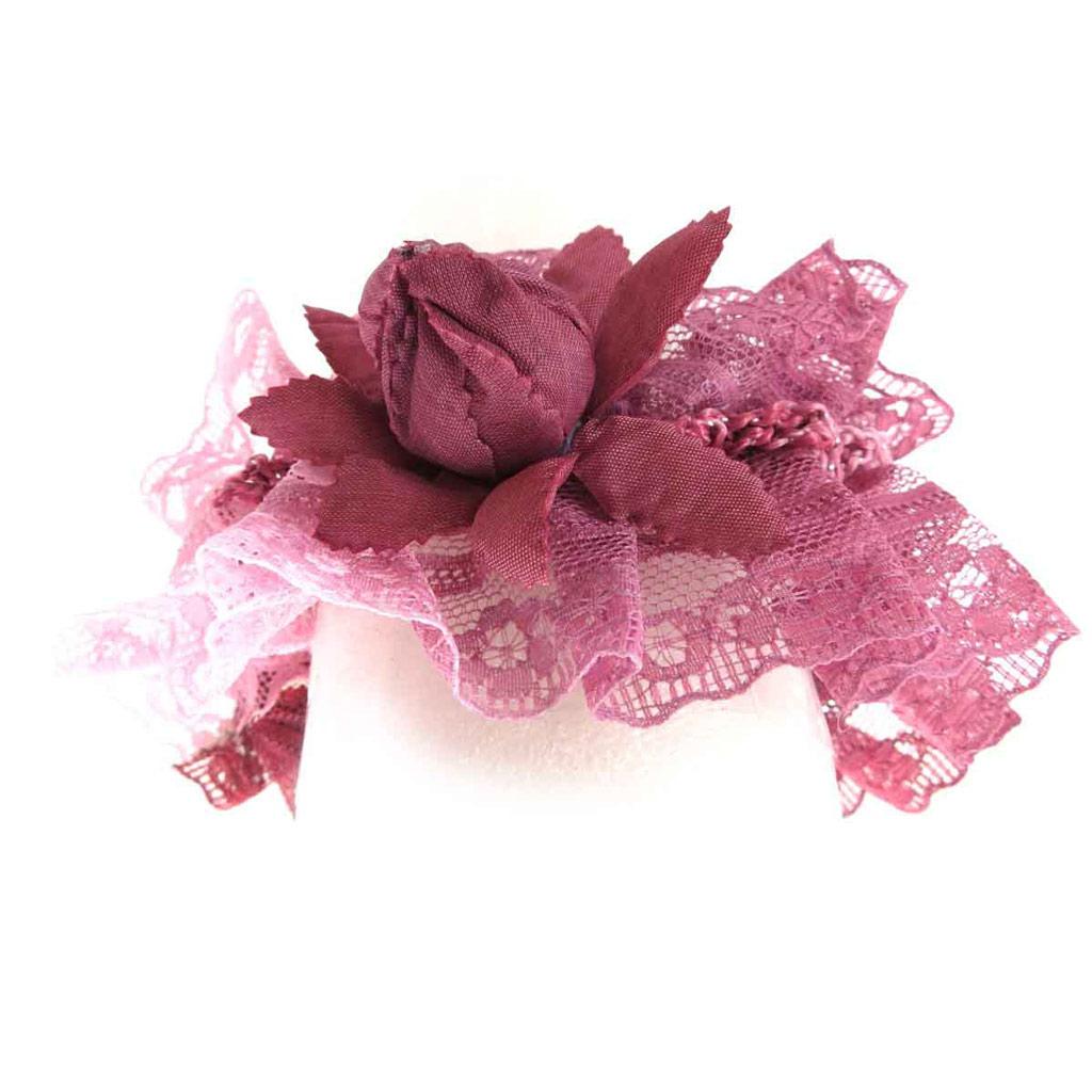 Chouchou \'Scarlett\' rose bordeaux - [J8566]