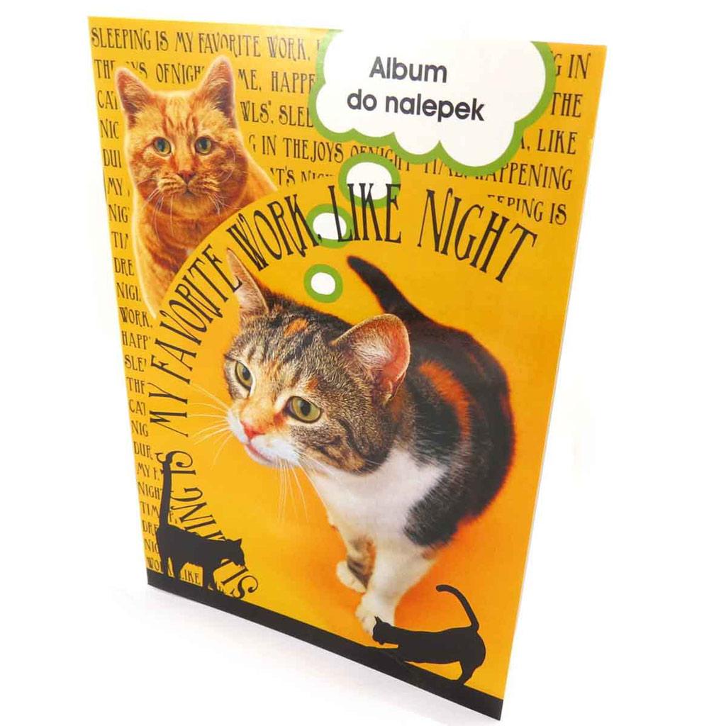Album pour stickers \'Un amour d\'Animaux\' chats (format A5) - [J9313]