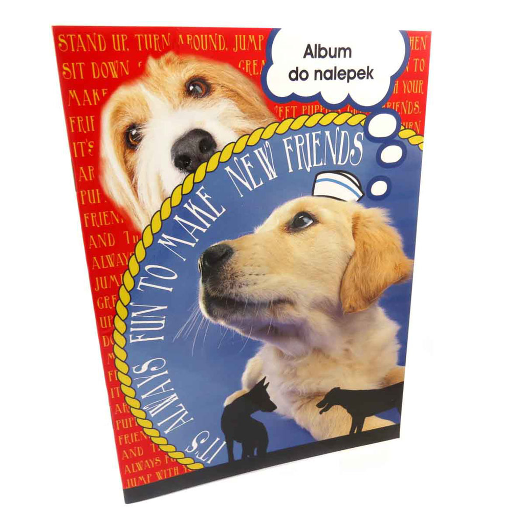 Album pour stickers \'Un amour d\'Animaux\' chiens (format A5) - [J9314]
