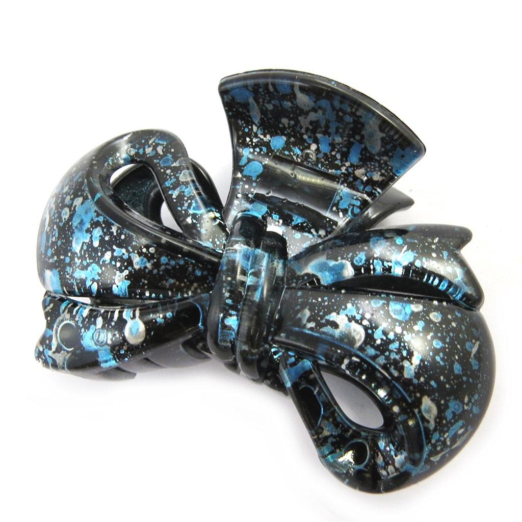 Pince \'Scarlett\' bleu (8x6x4 cm) - [M7550]