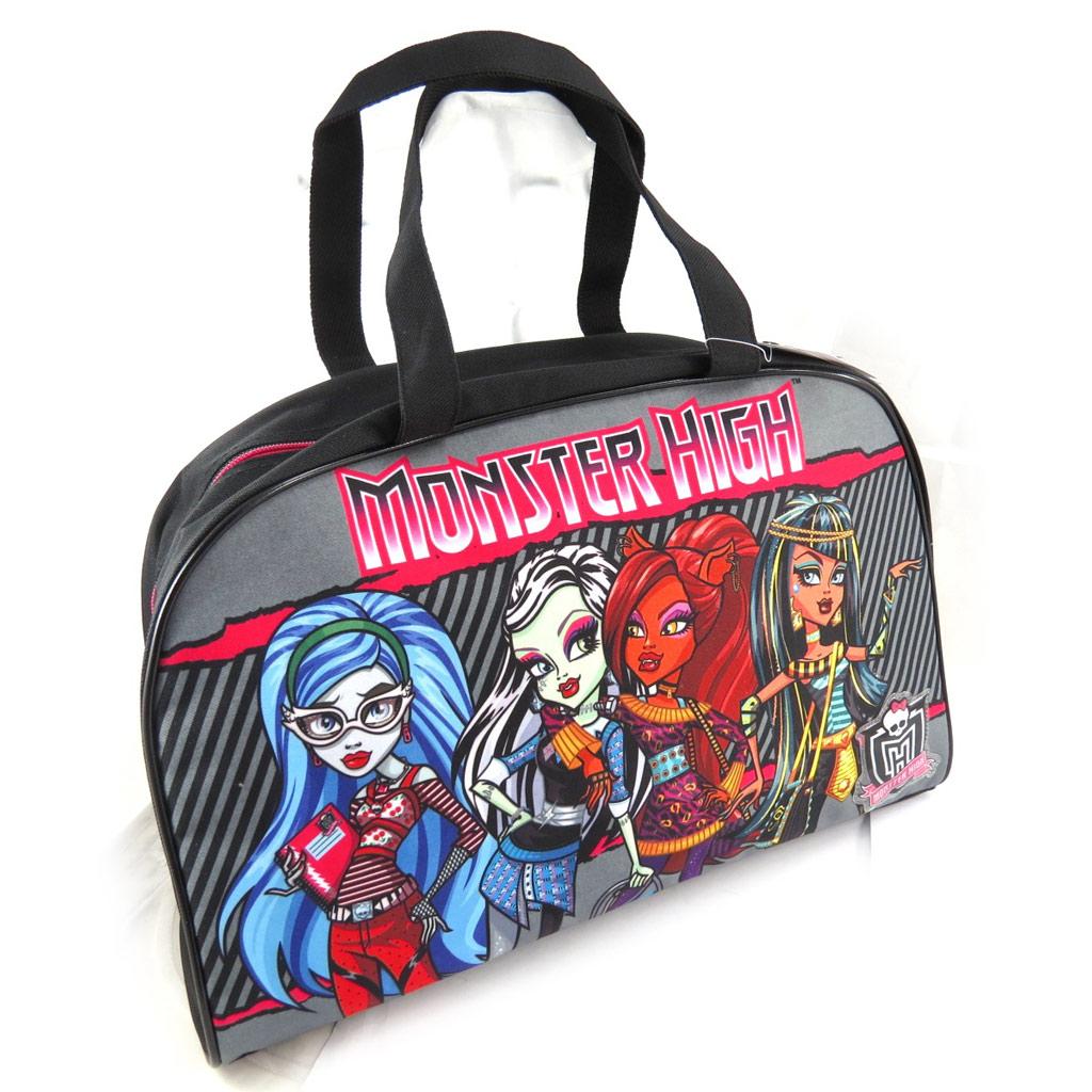 Sac cabas \'Monster High\' gris multicolore - [J9958]